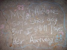 you-are-loved chalk message project