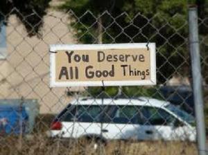 You Deserve Event